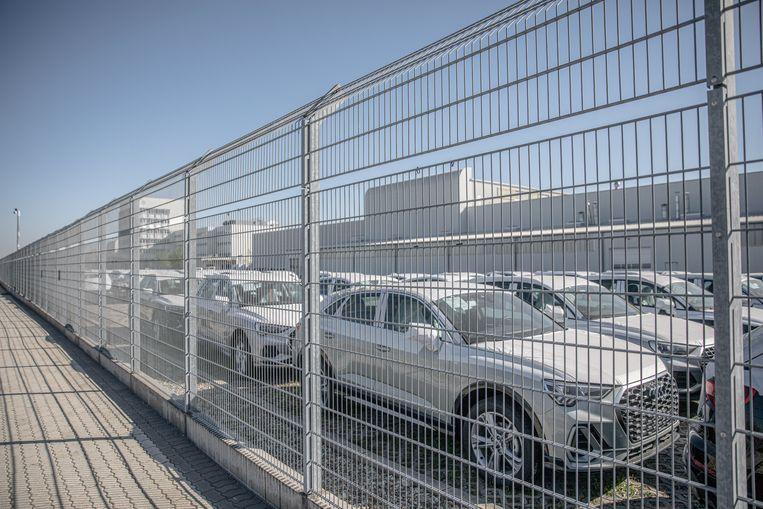 De Audi-fabriek in Györ in Hongarije. Beeld Akor Stiller