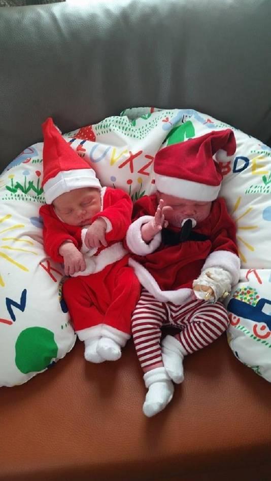 Kerstbaby's Marlee en Juliette (overigens geen tweeling) telden nog net mee in de statistieken.
