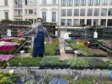 Eerste keer bloemenmarkt en Ledebergmarkt sinds maanden