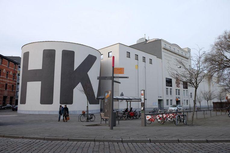 Het M HKA is momenteel nog gelegen in de Leuvenstraat.
