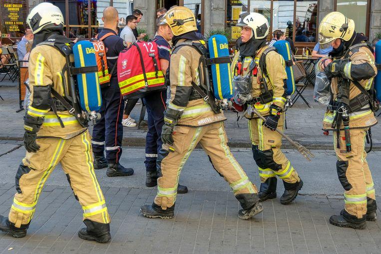 Illustratie: Brandweer Brussel