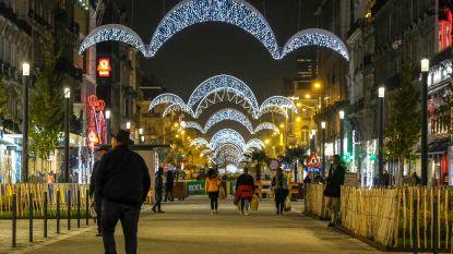 Duizenden lichtjes dalen neer over Brussel