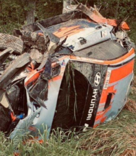 Premiers tours de roue, premier crash: reprise délicate pour Thierry Neuville
