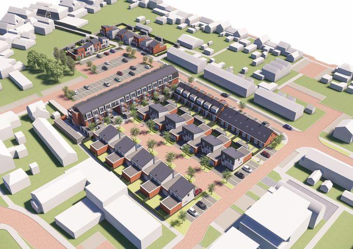 De gemeente Altena wil snel aan de slag met de bouw van in totaal ruim 750 woningen. De Burcht in Werkendam is een van die projecten.