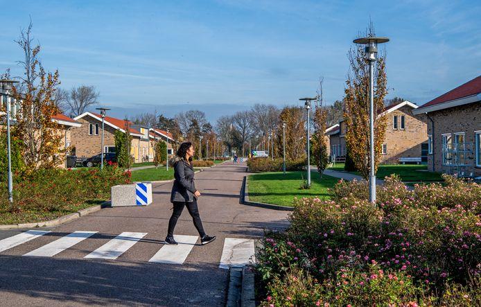 Aan de Oude Rijnlaan op Hooge Burch staan aan beide kanten groepswoningen. Hoewel relatief nieuw weet zorgdirecteur Ilse van Esch van Ipse niet of die nu nog zo zouden worden gebouwd.