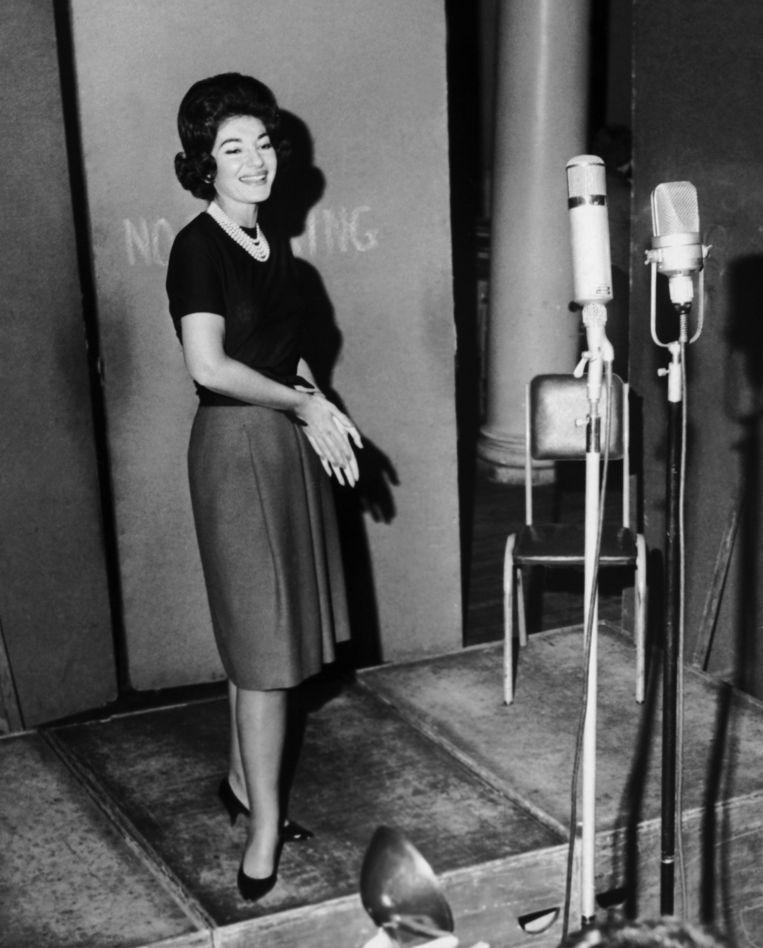 Maria Callas. Beeld Keystone France