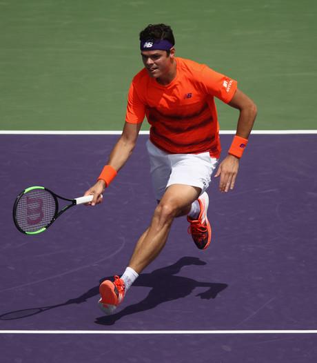 Raonic wint bij rentree in Miami