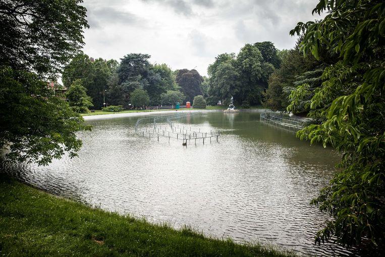 Eindelijk weer water in de vijver, met dank aan de overvloedige regen van afgelopen weken (archiefbeeld ter illustratie).