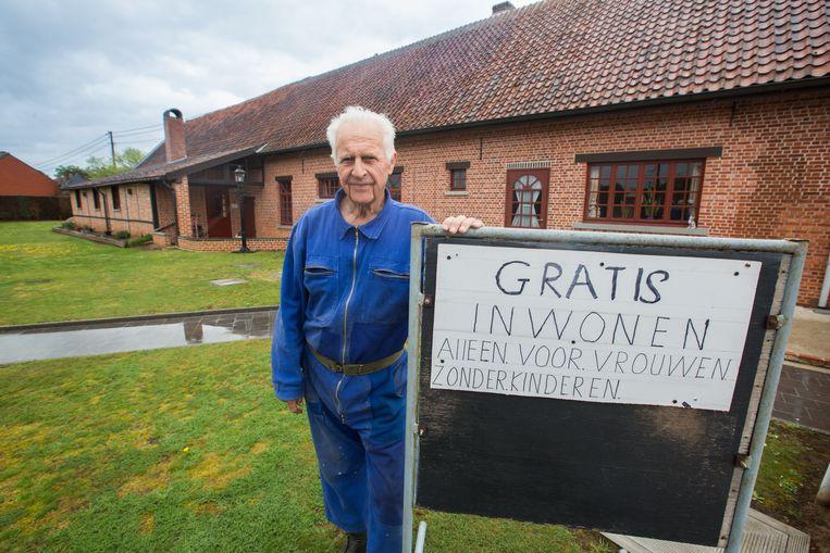 Herman Horion uit Lummen zoekt vrouw zonder kinderen om gratis bij hem te komen inwonen.