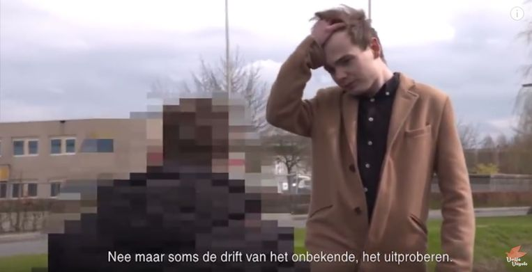 Still uit een YouTubevideo van Sven van der Meulen. Beeld YouTube