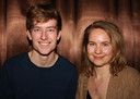 Frits van der Kraats (18) en Susanne Blom (25).