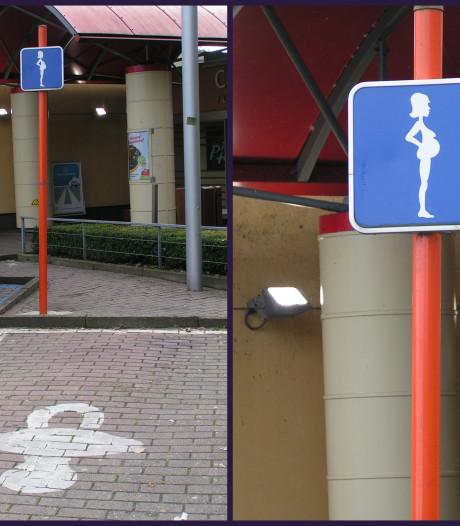 Ede waagt zich niet aan speciale parkeerplek voor zwangere