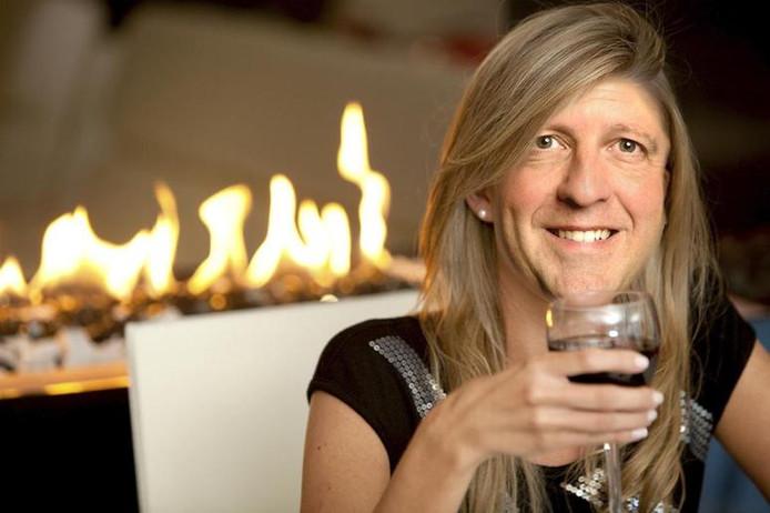 De bewerkte foto van Pechtold die Wilders heeft getweet.