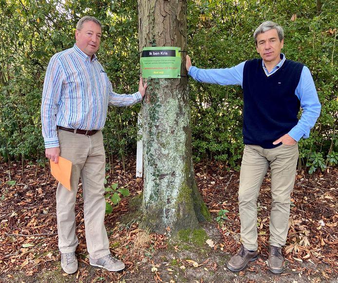 Dirk Janssens (links) en Kris Versmissen (rechts)