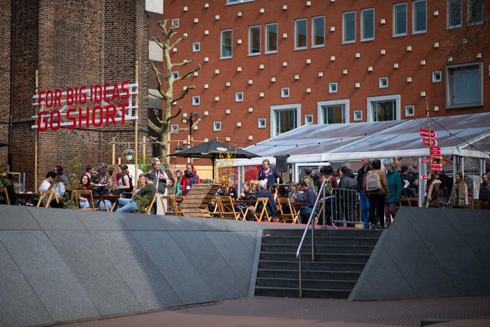 Het Go Short filmfestival bij LUX in de Nijmeegse binnenstad.