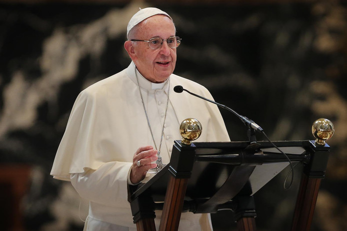 De game heeft de zegen van paus Franciscus