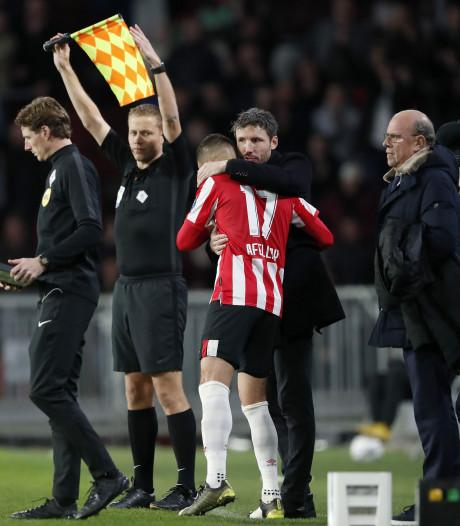 Van Bommel kan eindelijk weer voluit genieten van PSV: 'Wedstrijd met hele mooie momenten'