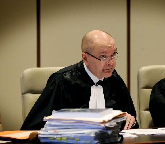 Politierechter Peter Vandamme legde de bromfietser anderhalf jaar cel op. (archief)