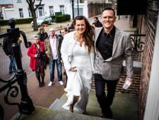 Dit kersverse echtpaar gaf elkaar op 20-02-2020 het jawoord: 'Deze datum is makkelijk te onthouden'