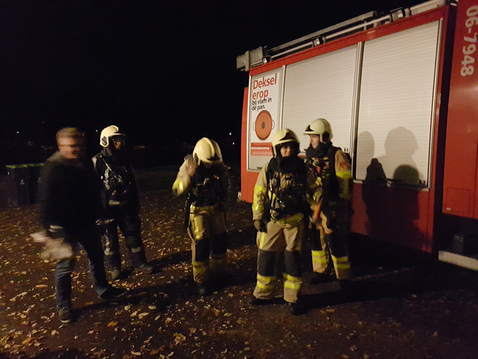De brandweervrouwen in Voorst. Foto: Ronald Hissink
