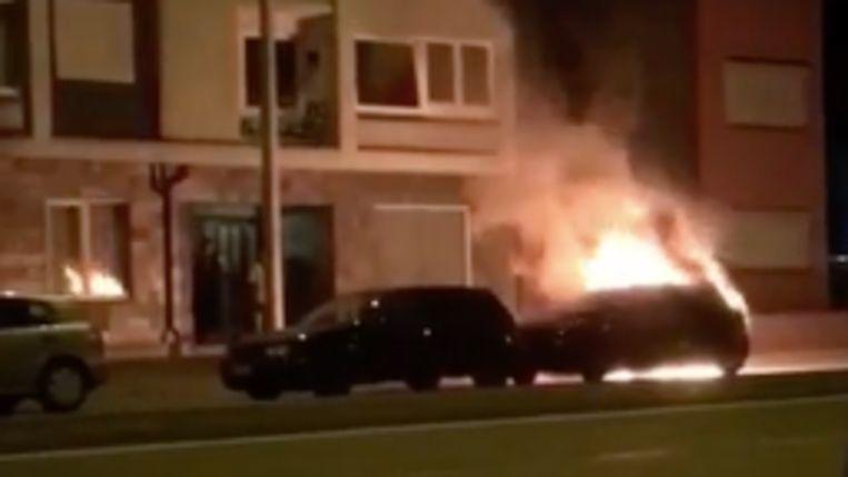Brand aan de Rijksweg.