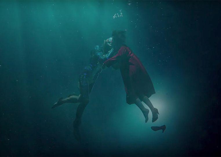 Sally Hawkins in Guillermo del Toro's The Shape of Water (2017). Beeld
