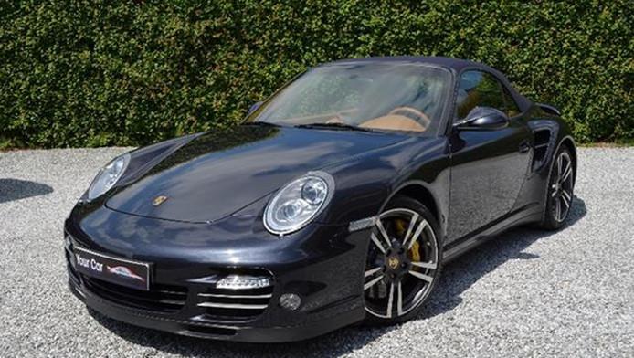 Porsche Van Koning Albert Op Belgische Verkoopsite Auto Ad Nl