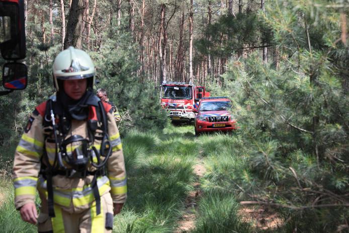 Donderdag 28 juni brak voor de eerste keer brand uit in het natuurgebied bij Dalfsen.