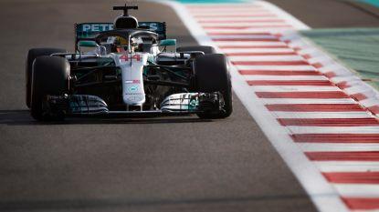 Wereldkampioen Lewis Hamilton grijpt de polepositie in GP Abu Dhabi, Vandoorne achttiende
