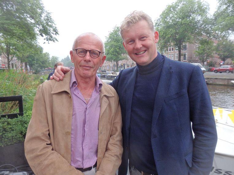 Tweelingbroer Aad Janssen:
