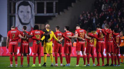 Bosuil hult zich minuut in stilte om overleden Antwerp-fan Ben Vanleene te eren