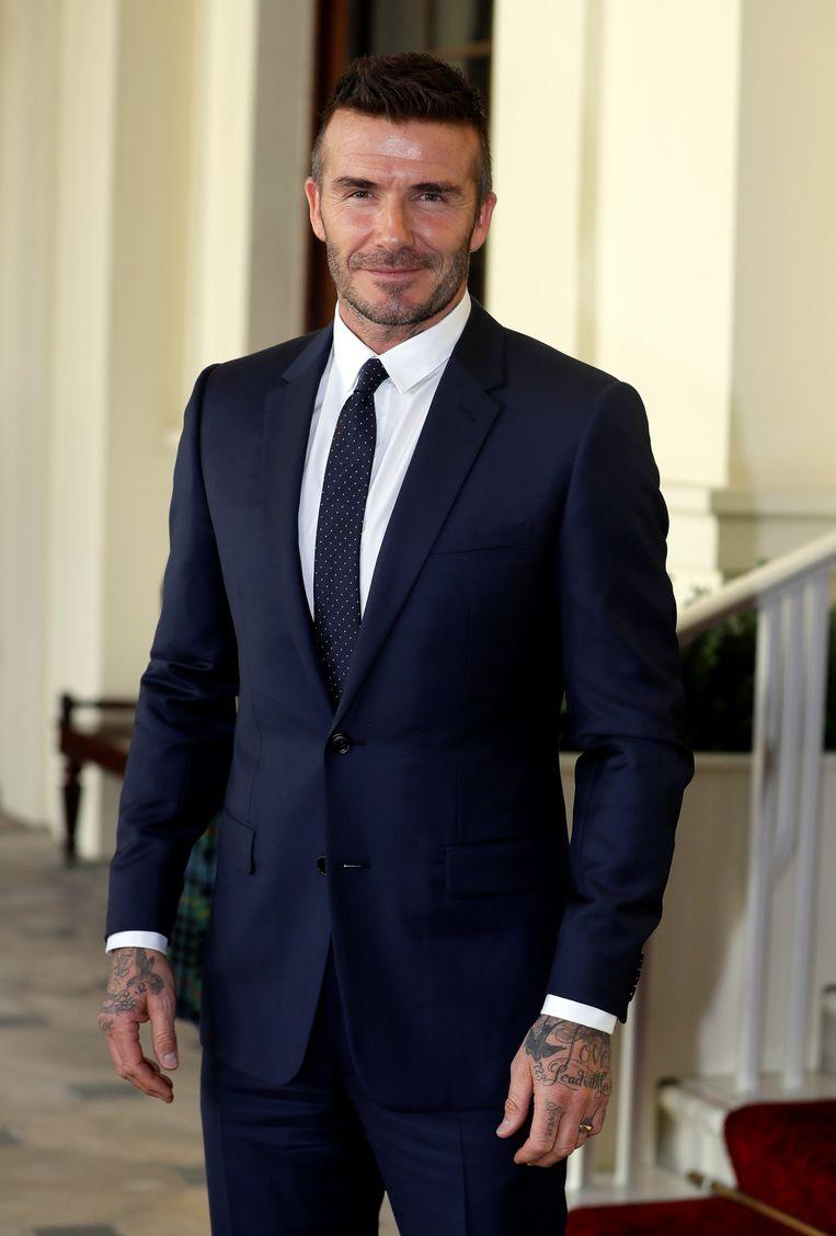 'Beckham. Harper. Juf. Scheiding' Beeld Reuters