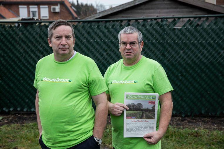 De broers Eddy en Marc Thijs zijn fervente wandelaars. Marc is tevens de uitgever van De Wandelkrant, het grootste onafhankelijke wandelmagazine van Vlaanderen.