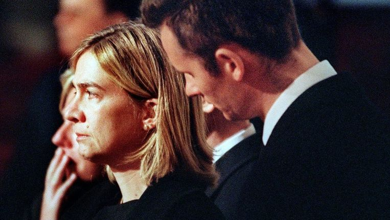 Prinses Christina en haar man. Beeld EPA