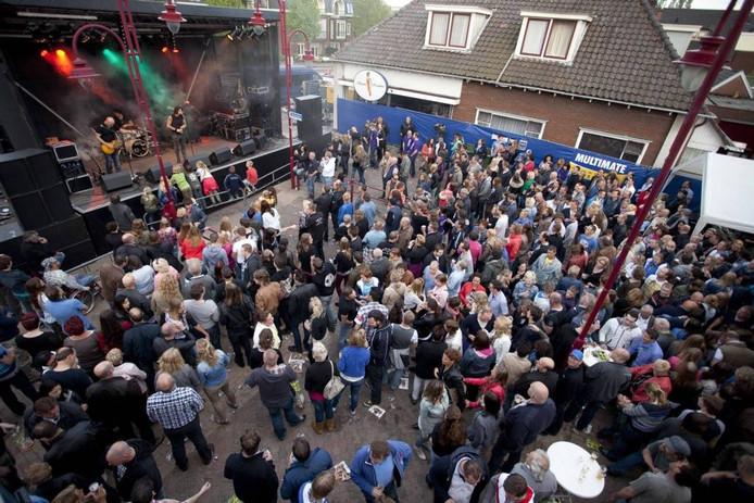 De belangstelling voor Randrock in Vriezenveen was andermaal enorm. Foto: Mark Troost