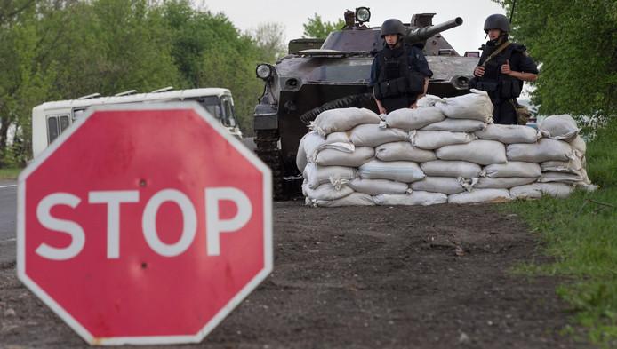 Armée ukrainienne près de Slaviansk