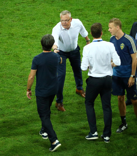 Zweedse bondscoach boos op 'provocerende Duitsers' na goal Kroos