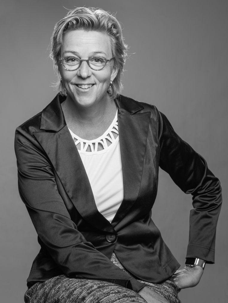 Sandra Meeuwsen is sportfilosoof en ex-(tri)atleet, gepromoveerd aan de Vrije Universiteit Brussel op het proefschrift Kritiek van de Sportieve Rede. Beeld -