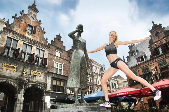 Atlete Susan Kuijken is geboren en getogen in Nijmegen.