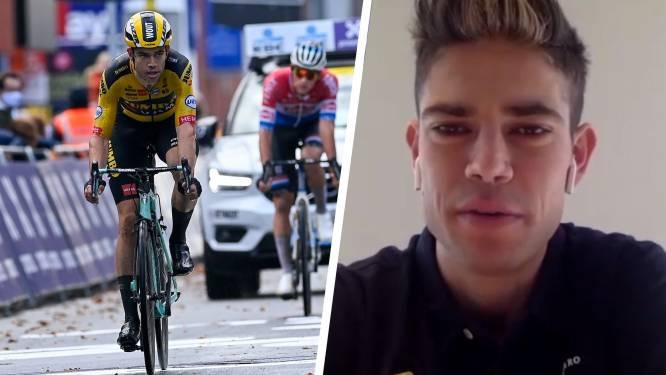 """Wout van Aert over rivaliteit met Van der Poel en Ronde van Vlaanderen: """"Ik ga me niet nog eens laten vangen"""""""