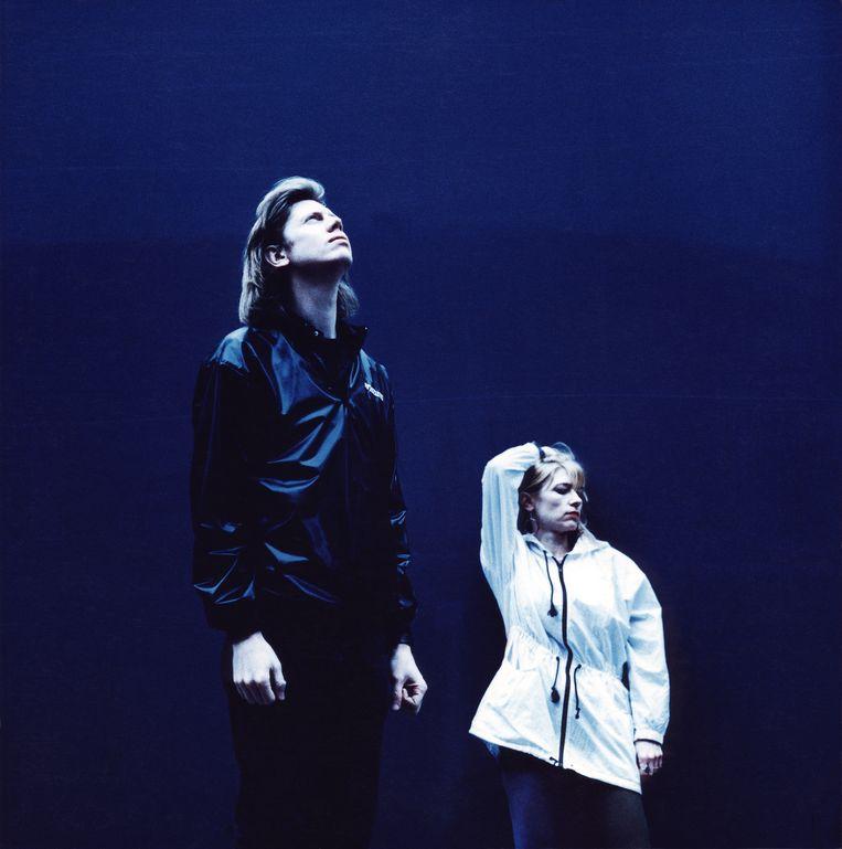Thurston Moore en Kim Gordon (Sonic Youth) in 1990. Beeld Hester Doove