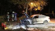 BMW uitgebrand in Kasteeldreef