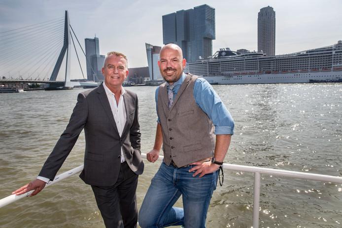 Directeuren Erik de Wit (Parkhotel) en Roel Dusseldorp (HNY) zijn er klaar voor: 'Amsterdam is onze enige concurrent'.