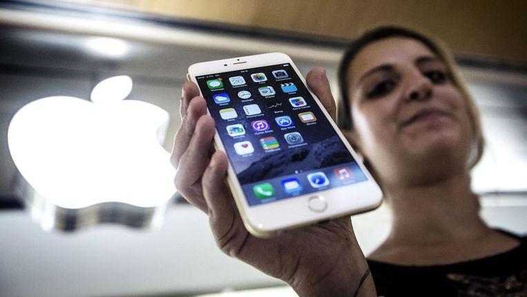 Apple heeft de prijzen voor apps verhoogd, volgens het bedrijf vanwege de dure dollar en nieuwe btw-regels. Beeld anp