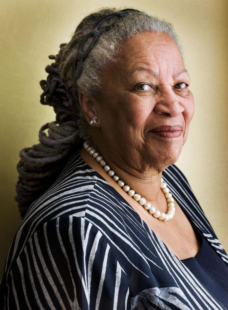 Schrijver: Toni Morrison.'We hebben verteld dat we schatplichtig aan haar zijn.' Beeld Guus Dubbelman / de Volkskrant