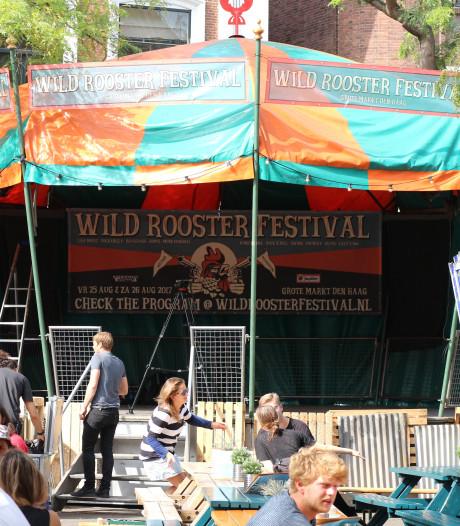 Hooibalen, rokende BBQ's, Amerikaanse vlaggen: Amerika heerst op het Wild Rooster