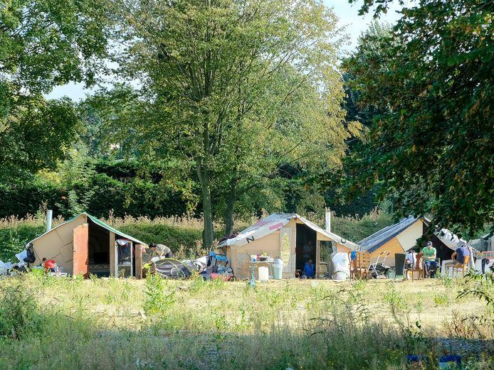Roma kampje in Evere