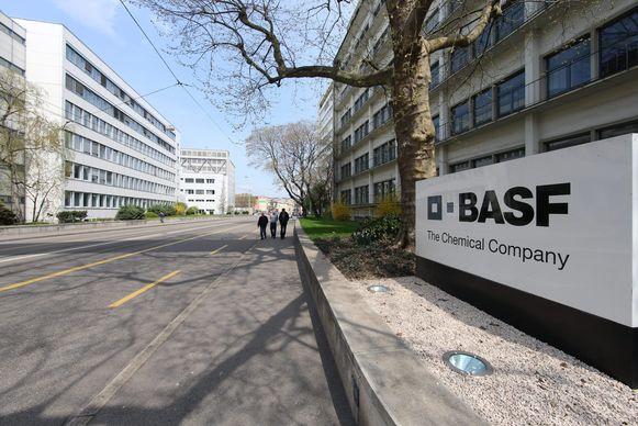 BASF in Bazel, Zwitserland