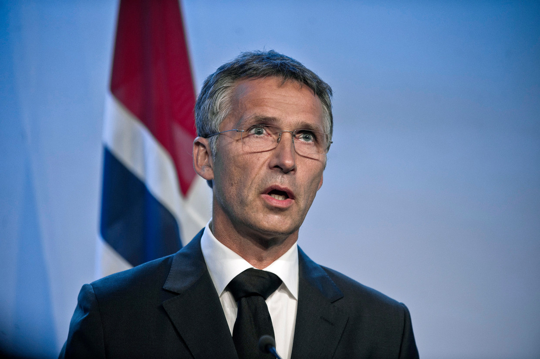 Noors premier Jens Stoltenberg.