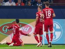 Bayern München wint ook van Schalke 04